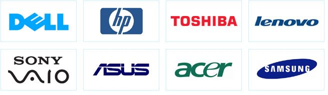 laptop brand names