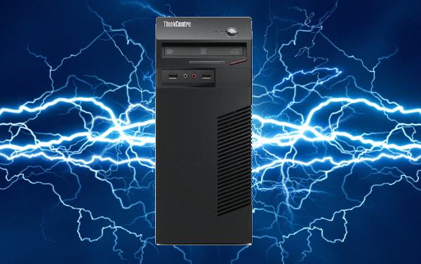 computers break down because of power surges