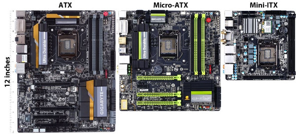 gaming pc build motherboard form factor