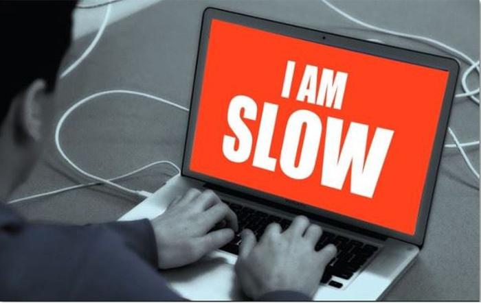 slow laptop computer